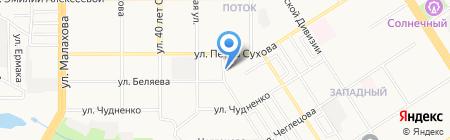 Центр по профилактике и борьбе со СПИДом и инфекционными заболеваниями на карте Барнаула
