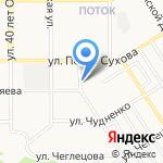 Алтайский краевой центр по профилактике и борьбе со СПИДом и инфекционными заболеваниями на карте Барнаула