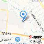 Магазин ковровых изделий на карте Барнаула