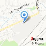 Узбечка на карте Барнаула