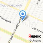 Тонировка №1 на карте Барнаула