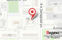 Схема проезда до компании Дизайнерское Бюро в Барнауле