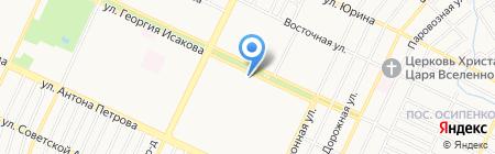 Наими на карте Барнаула