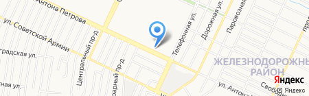 Lime на карте Барнаула