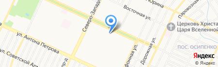 Мастерская по пошиву и ремонту одежды на карте Барнаула