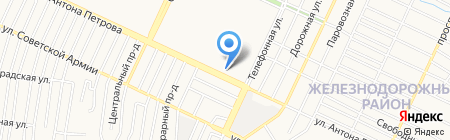 Удачный на карте Барнаула