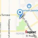 Техком-Автоматика на карте Барнаула