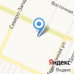 Краевая детско-юношеская спортивная школа на карте Барнаула