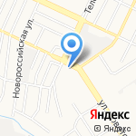 ГринЭнергия на карте Барнаула