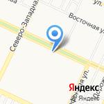 Магазин колбасных изделий на карте Барнаула