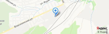 АЛТАЙ-ПЛАЗМА на карте Барнаула