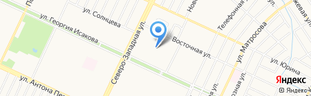 Средняя общеобразовательная школа №37 на карте Барнаула