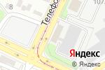 Схема проезда до компании Саламис в Барнауле