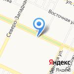 Цыплята табака на карте Барнаула