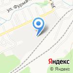 Рыбоперерабатывающая компания на карте Барнаула