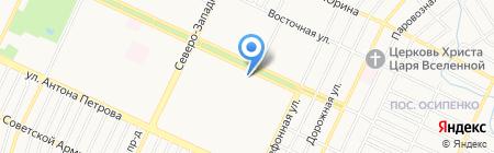 МобиЛэнд на карте Барнаула