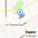 Акант на карте Барнаула