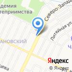 ТГВ на карте Барнаула
