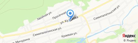 ФОМИКА на карте Барнаула