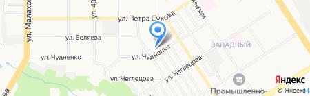 Общественная приемная депутата Барнаульской городской думы Зубович Л.Н. на карте Барнаула