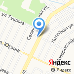 Магазин шин и дисков на карте Барнаула