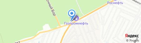 Автоцентр АНТ на карте Барнаула