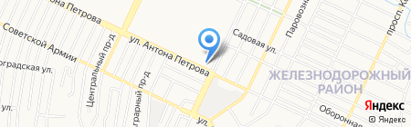 Pit Stop на карте Барнаула