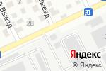 Схема проезда до компании Инструмент в Барнауле
