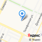 Комплексный центр социального обслуживания населения города Барнаула на карте Барнаула