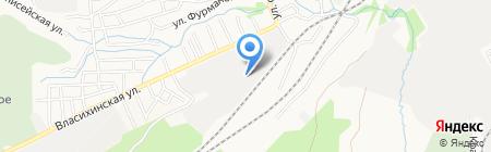 АЗК на карте Барнаула
