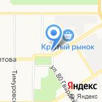 Академия уюта на карте Барнаула