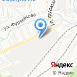 Домик в Лесу на карте Барнаула