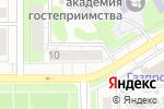 Схема проезда до компании Десяточка в Барнауле