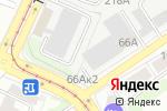 Схема проезда до компании Арт-Металл в Барнауле