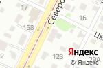Схема проезда до компании Баня круглый год в Барнауле