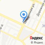 День и ночь на карте Барнаула