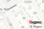 Схема проезда до компании СТРОЙСНАМИ в Барнауле