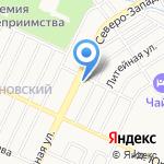 Баня круглый год на карте Барнаула