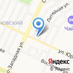 Хмельная лавка на карте Барнаула