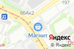 Схема проезда до компании Первая леди в Барнауле
