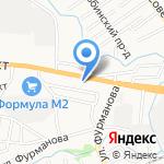 Дело в печке на карте Барнаула