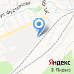 Крофт на карте Барнаула