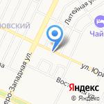 Сам везу-сам гружу на карте Барнаула
