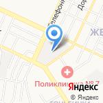Банька на карте Барнаула