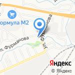 НИКА-1 на карте Барнаула