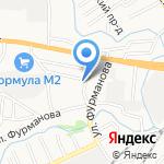 Ар-Ника на карте Барнаула