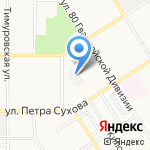 Системкомплекс на карте Барнаула