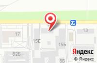 Схема проезда до компании ГазЭнергоСервис в Барнауле