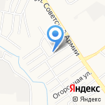Специальное учреждение временного содержания иностранных граждан УФМС России по Алтайскому краю на карте Барнаула