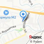 Виталинка на карте Барнаула